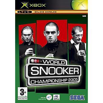 Wereldkampioenschap Snooker 2005 (Xbox)-nieuw