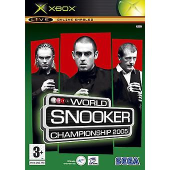World Snooker Championship 2005 (Xbox) - New