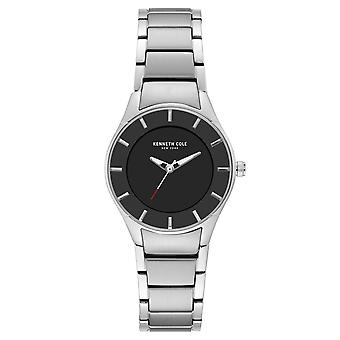 Da polso orologio analogico al quarzo in acciaio inox Kenneth Cole New York donna KC15201002