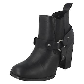 Ladies Anne Michelle Ankle Boots With Elasticated Gusset