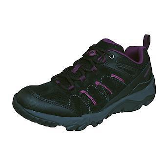 Womens Merrell escursionismo formatori massima ventilatore piedi scarpe - nero