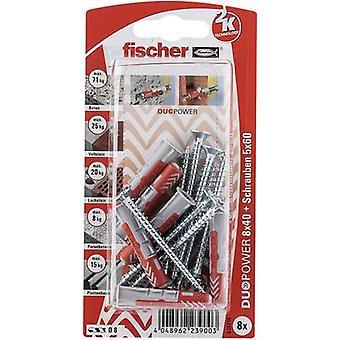 Conjunto de Fischer DUOPOWER passador 40mm 535215 1 conjunto