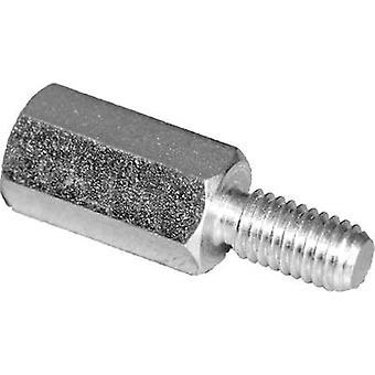PB Fastener S45530X40 Spacer (L) 40 mm M3 x 7 M3 x 6 Steel zinc plated 10 pc(s)