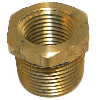 "Big A Service Line 3-21092 Inverted Male Tube Connector 3/4"" x 1/2"""