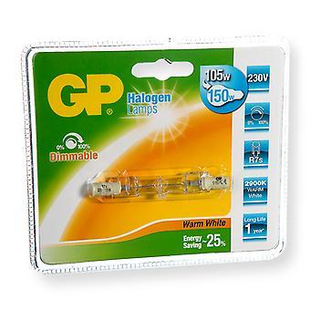 Gp GP-047568-HL Halogeenlamp Recht Energiebesparend R7s 105 W