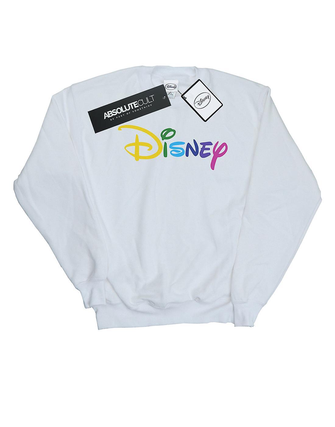 Disney Women's Colour Logo Sweatshirt