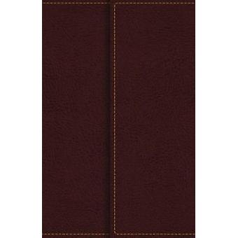 KJV - Reference Bible - Compact - Large Print - Snapflap Leather-Look