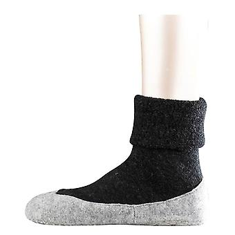 Falke Cosyshoe Slipper Socks - Anthracite Grey