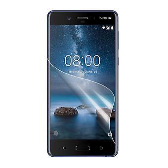 Nokia 8 Skärmskydd med putsduk
