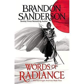 Ord av Radiance del ett: Stormlight arkivet bok två