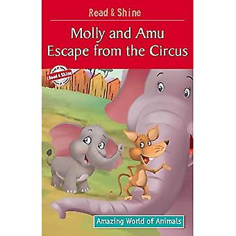 Molly & Amu Escape from the Circus (Amazing World of Animals Serie)