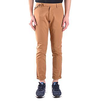 Brian Dales Ezbc126011 Men's Brown Cotton Pants