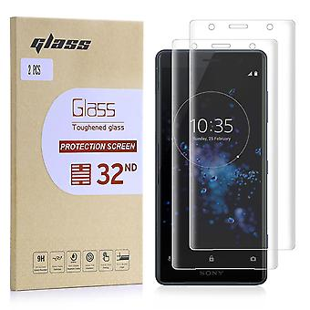 Extra Armoured Tempered Glass for Sony Xperia XZ2 Compact - 2 Pack