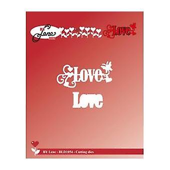 Door Lene Love Cutting Die