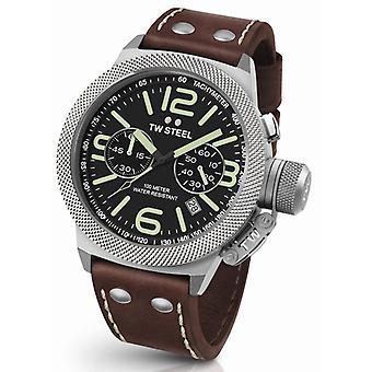 Tw Steel Cs24 Canteen Xxl Chronograaf Heren Horloge 50mm