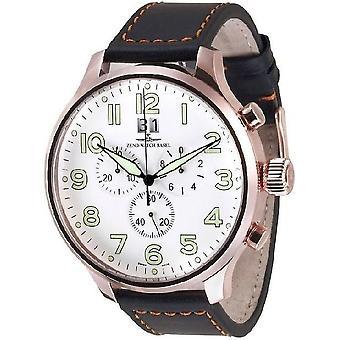 Zeno-watch mens watch of Super oversized Chrono 6221-8040Q-PGR-a2