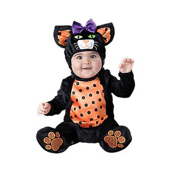 Baby Age 0 - 24 Months Halloween Black Cat Fancy Dress Costume
