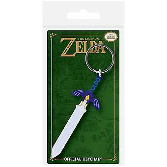 The Legend of Zelda Master Sword Rubber Keychain