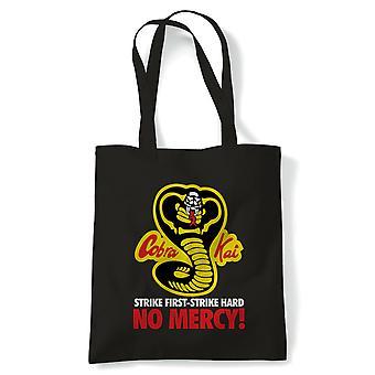 Cobra Kai No Mercy, Martial Arts Tote - Sac de toile de shopping réutilisable