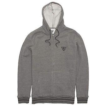 Vissla established zip hood - charcoal