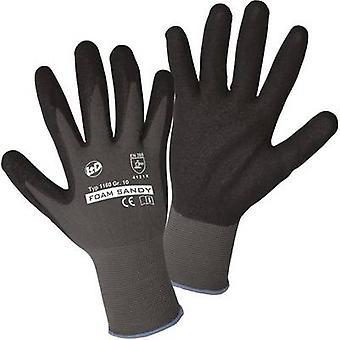 L+D worky FOAM SANDY 1160 Nylon Protective glove Size (luvas): 10, XL EN 388:2016 CAT II 1 Pair