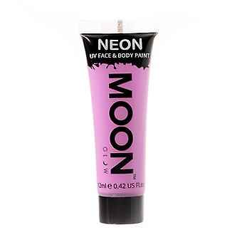 Moon Glow - 12ml Neon UV Gesicht & Body Paint - Pastell lila