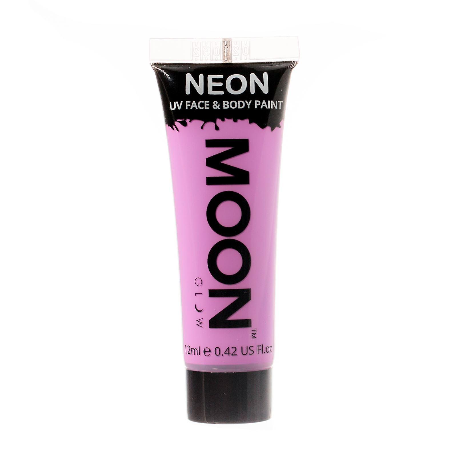 Moon Glow - 12ml Neon UV Face & Body Paint - Pastel Lilac
