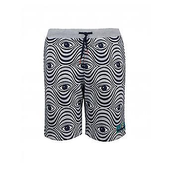 Kenzo Kids Eye Print Jersey Shorts
