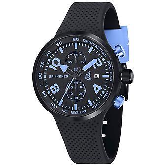 Spinnaker Dynamic Chrono Watch - Black/Blue