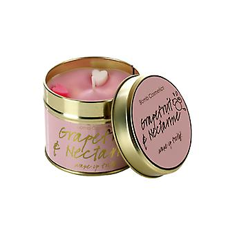 Bomb Cosmetics Tinned Candle - Grapefruit & Nectarine