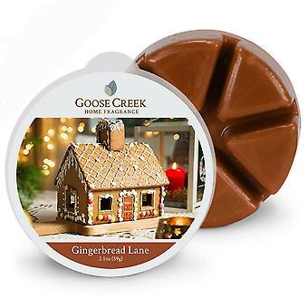 Goose Creek 2.1oz  Breakable Wax Melt Tart for Burners Gingerbread Lane