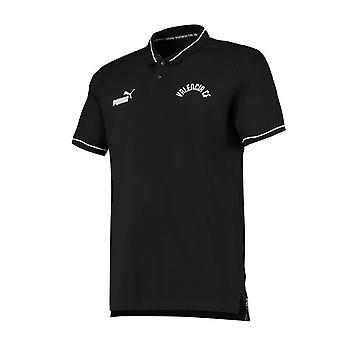2019-2020 Valencia Puma Urban Varsity Polo Shirt (Black)