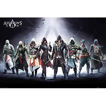 Assassins Creed tecken Maxi affisch 61x91.5cm