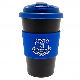 Everton silicone Grip caneca de viagem