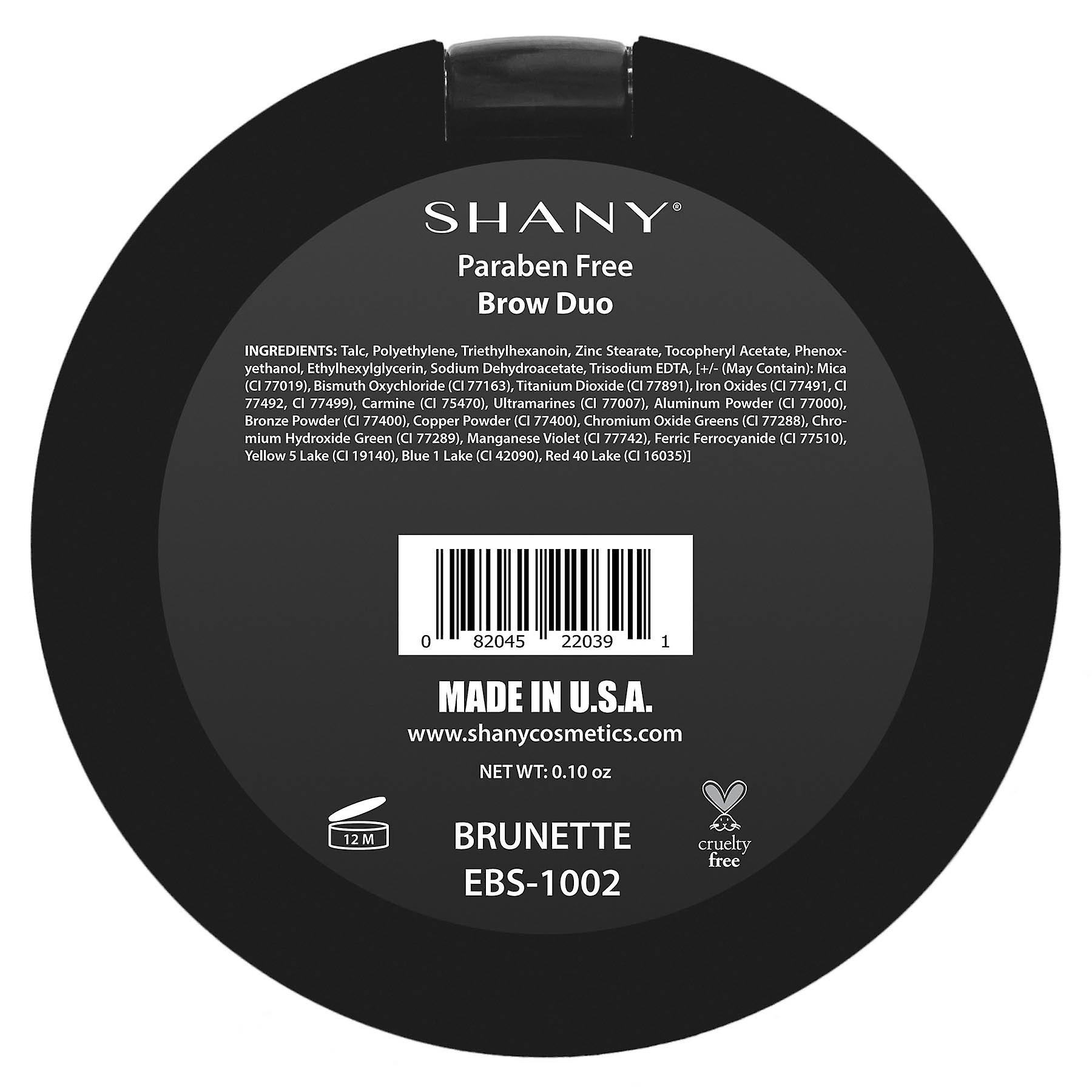 SHANY Powder Brow Duo - Paraben gratuit