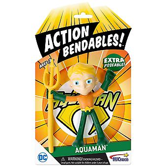 Action Figures - DC Comics - Aquaman Bendable 8
