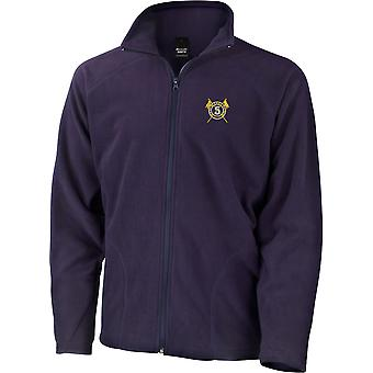 5th Royal Irish Lancers-licenseret British Army broderet letvægts Micro fleece jakke