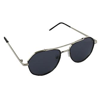 Men's sunglasses and Sunglasses Women's Polaroid Pilot - Silver/Black with free brillenkokerS361_5