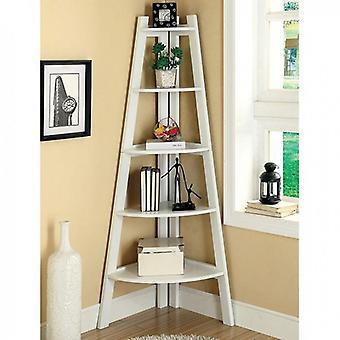 Ladder shelf, white