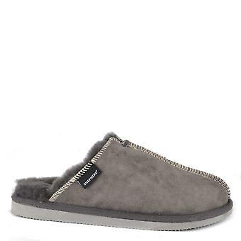 Shepherd of Sweden Karla Asphalt Suede Slipper