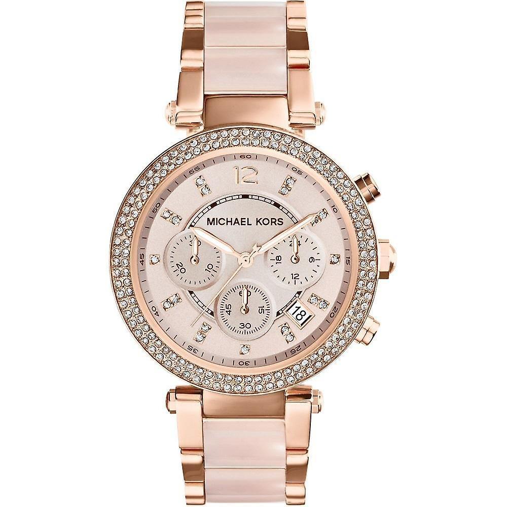 Michael Kors Ladies' Parker Chronograph Watch MK5896