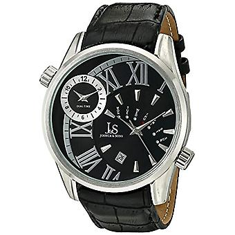 Joshua mens quartz analog Display with Sons &, color: black-Japanese style (2)