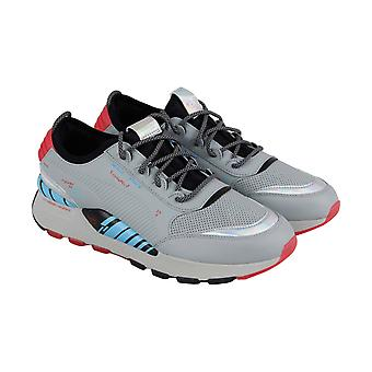 Puma RS-0 AI Circuit Board  Mens Gray Lace Up Athletic Gym Running Shoes