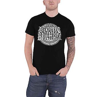 The Atomic Bitchwax T Shirt Sun Logo new Official Mens Black