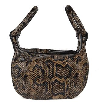 Ash BLANCHE BRACELET Bag Snake Print Leather