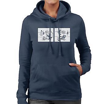 Krazy Kat Stop Go Women's Hooded Sweatshirt
