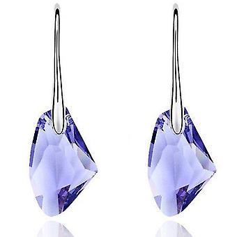 Silver Plated Drop Fashion Earrings