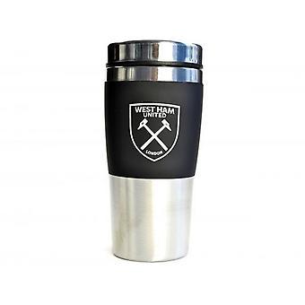 West Ham United FC Executive Handleless Travel Mug