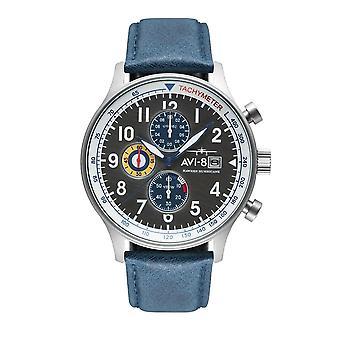 AVI-8 AV-4011-0F Hawker orkanen Kronograf Armbåndsur