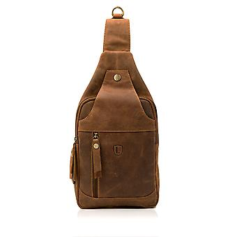 Sac Sling Hunter cuir Tan